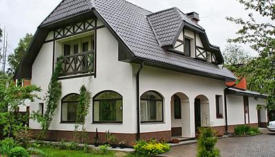 Штукатурный фасад